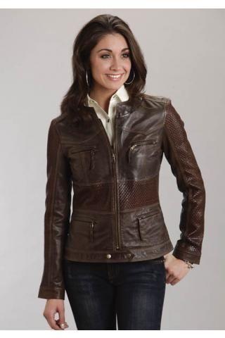 Brown Jacket Ladies - Pl Jackets