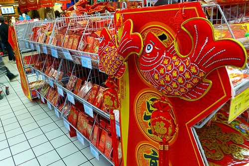 RT Mart Chinese New year 2013 Decorations