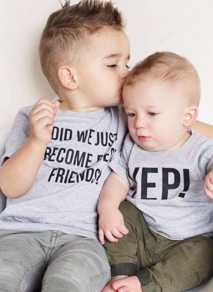 7fa3de7af The cutest t-shirt set ever! Did we just become best friends? Yep! Perfect  for siblings.