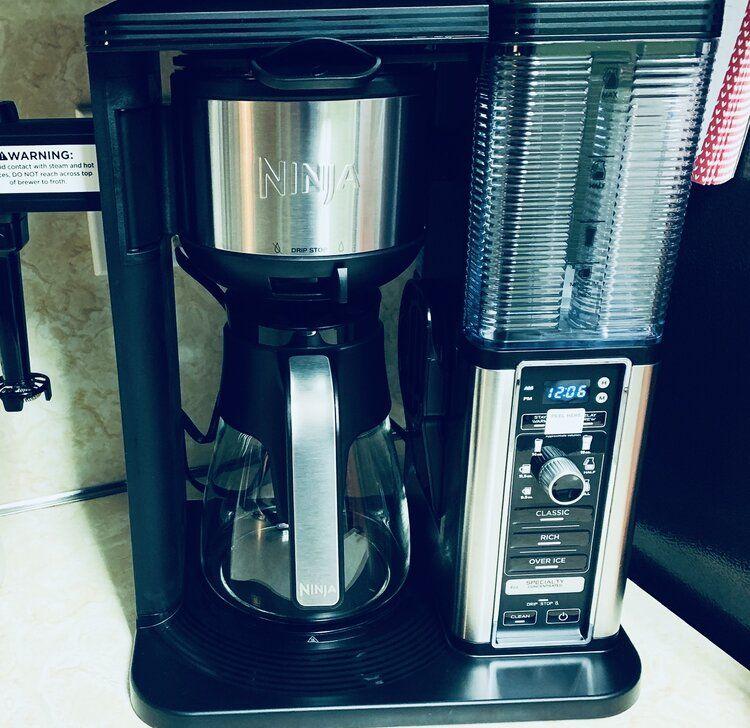 how to clean ninja coffee maker ce201