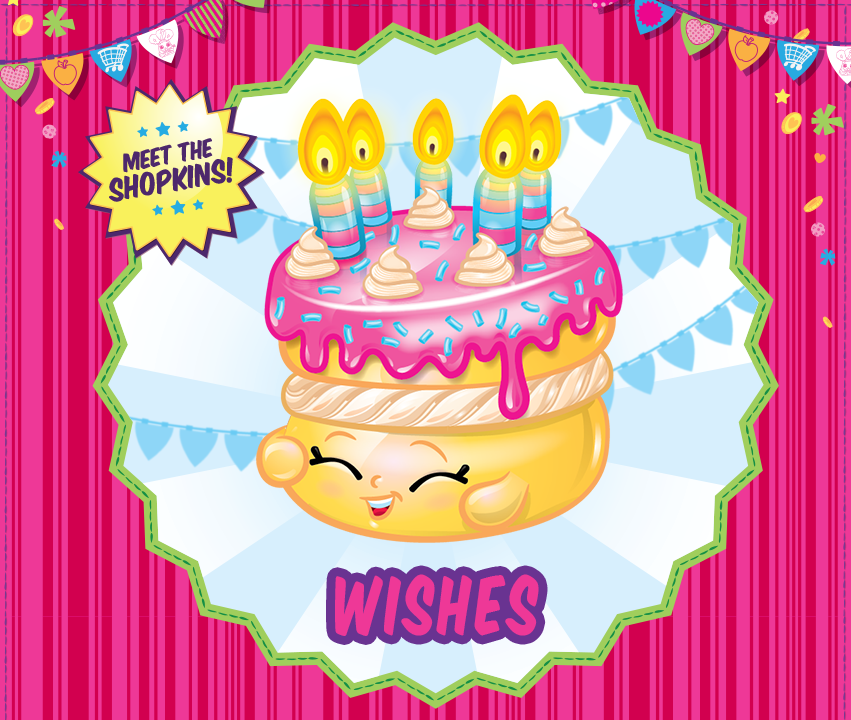 Celebrate your birthday with Wishes! #shopkins #birthday #toys ...