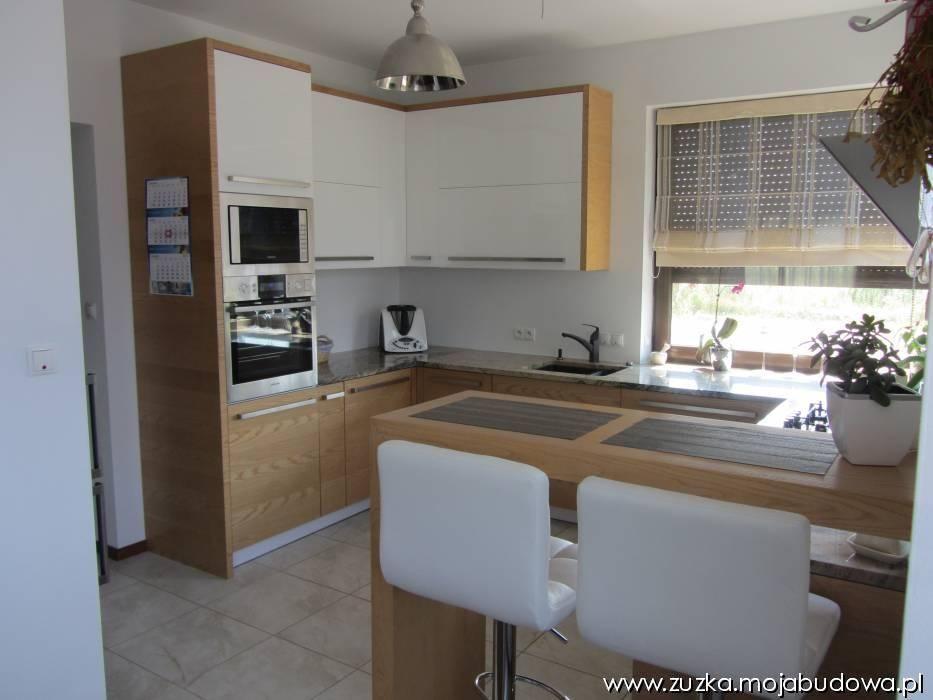 Kuchnia w domu Zuzia  MG Projekt #interior #zuzia #   -> Kuchnia Kaflowa Domu