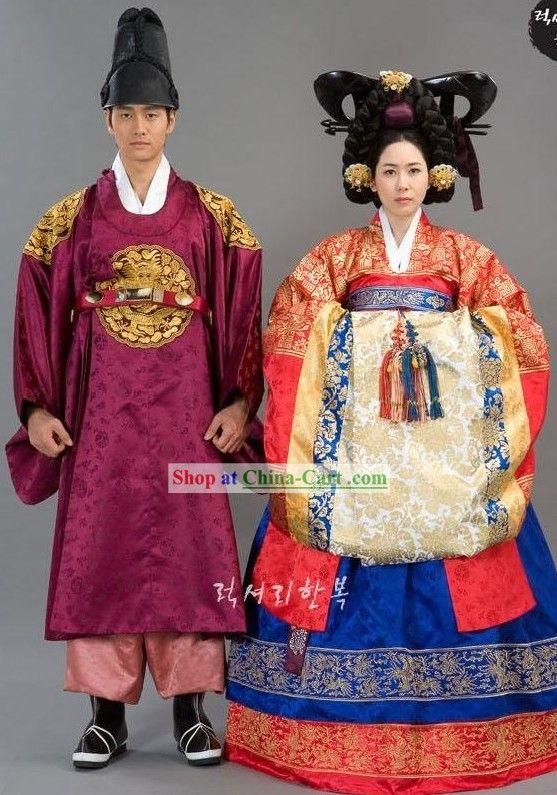 Korean emperor and empress   Silla   Korean traditional