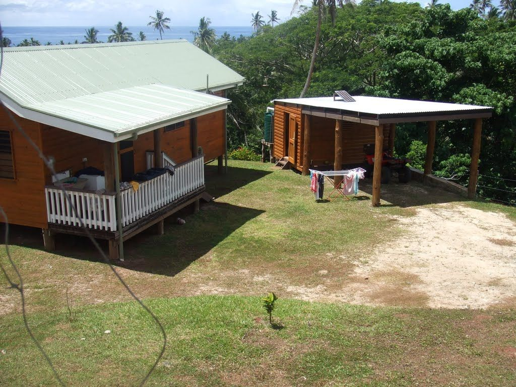 Panoramio Photo of Guest house back deck & small shed