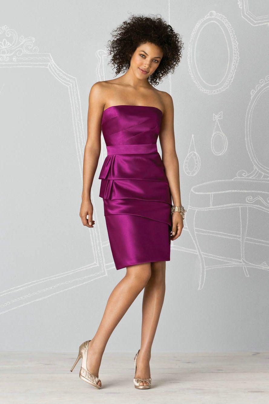 ef53f891af purple short bridesmaid dresses