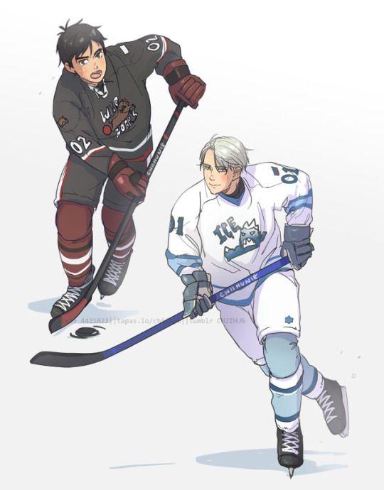 Картинки хоккей аниме