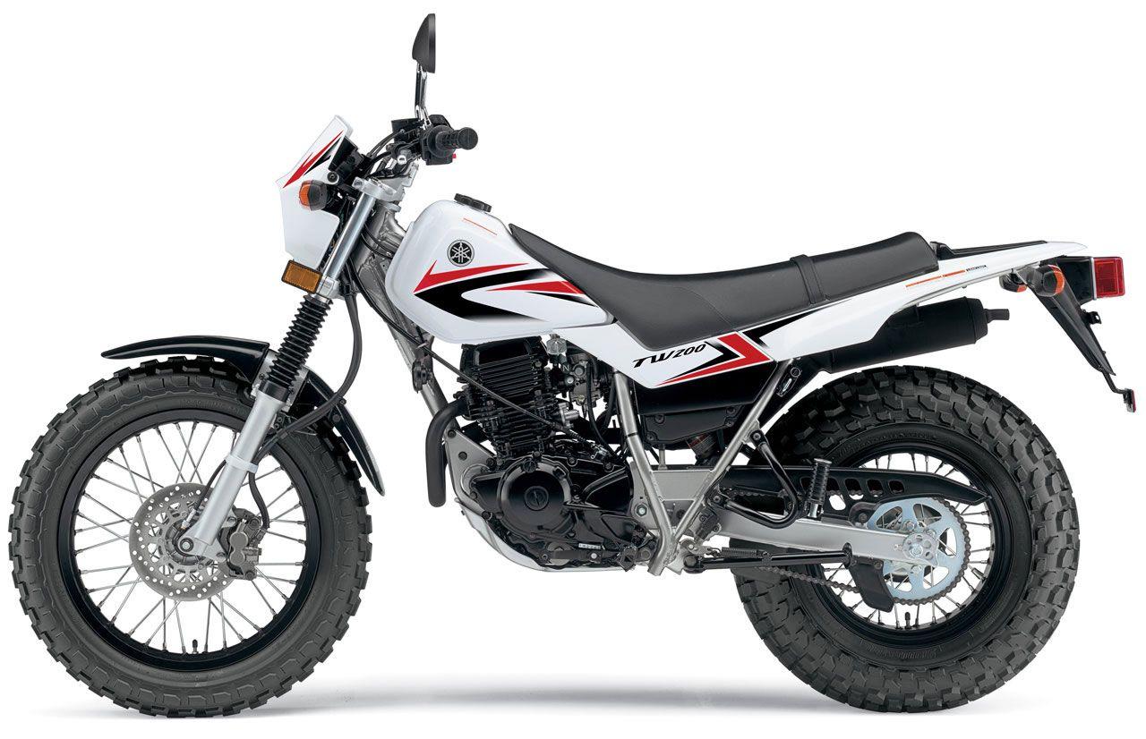 yamaha tw 200- my first baby