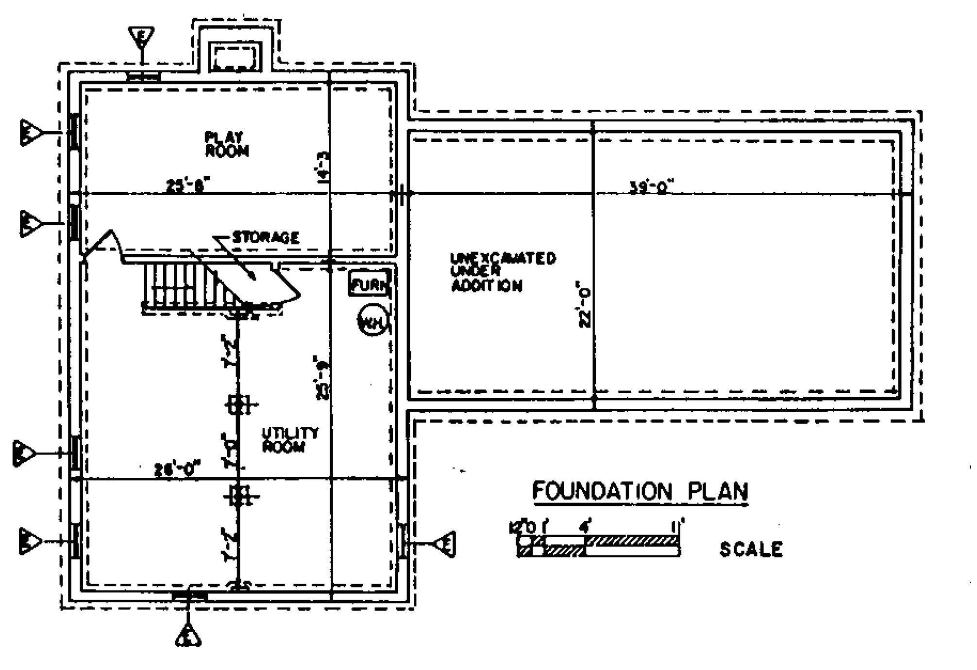 Home Foundation Plan