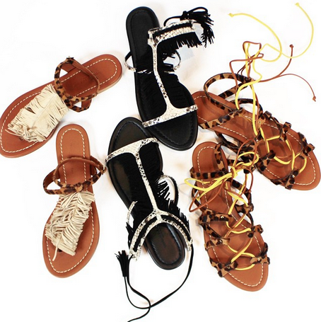 Visconti $ Du Réau animal style sandals #MDW #boydsworld