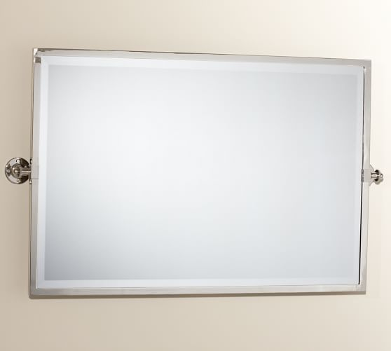 Photo Gallery For Photographers Kensington Pivot Wide Rectangular Mirror if you don ut need a medicine cabinet in the master than i would get a tilt mirror you can find them pretty cheap