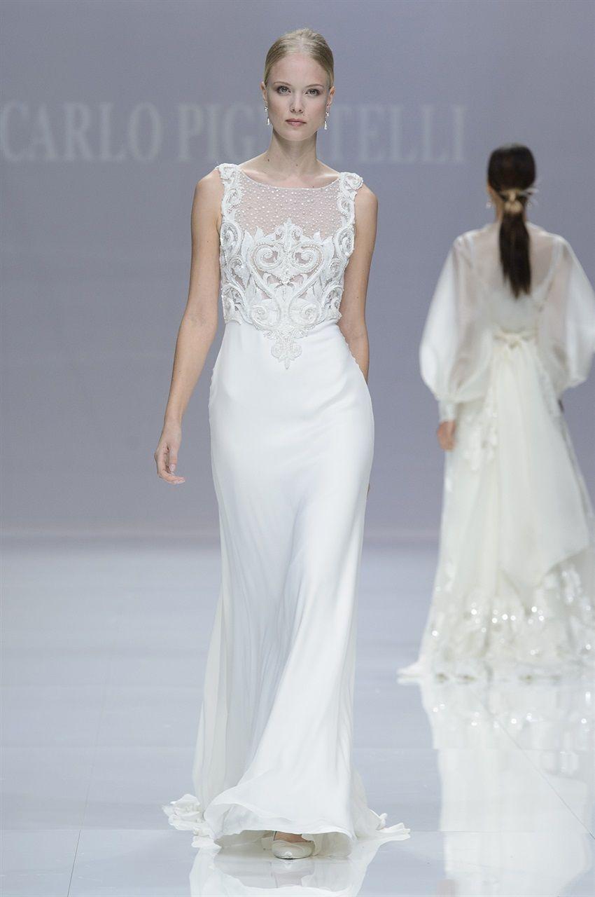 Abiti da sposa 2019  le tendenze moda dalle bridal week - Vogue.it 79b85c186f7