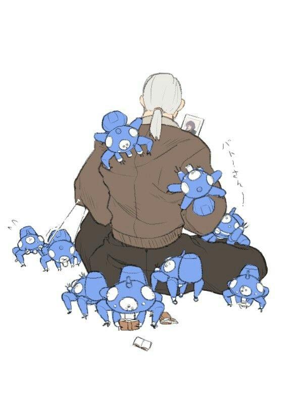 攻殻機動隊タチコマがいっぱいでかわいい