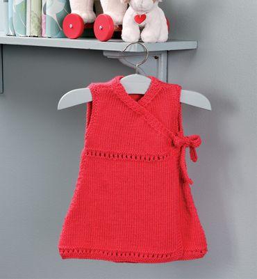 modèle tricot robe layette gratuit | Tricots | Pinterest | Nähen