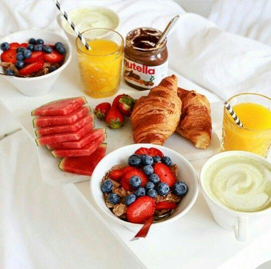 Breakfast in bed breakfast with my baby pinterest for Breakfast in bed ideas