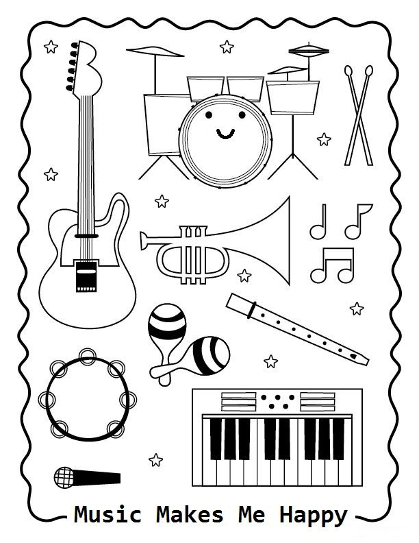 Nod Printable Coloring Page
