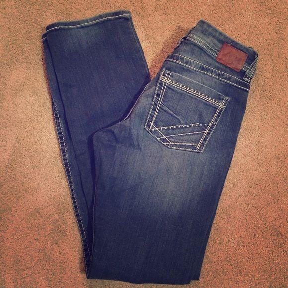 BKE Bootcut Denim Jeans Bootcut denim jeans. 32 waist, XL length. Buckle Jeans Boot Cut