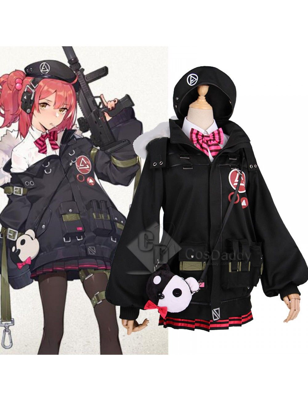 Girls Frontline mp9 Cosplay Costume  Girls frontline, Cosplay