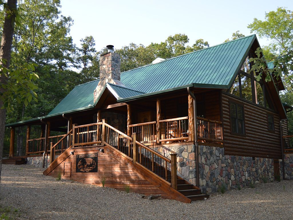 Vrbo Com 739363 Large Luxurious Cabin Only Minutes From Broken Bow Lake And Beavers Bend Park Cabin Cabin Vacation Cabin Rentals