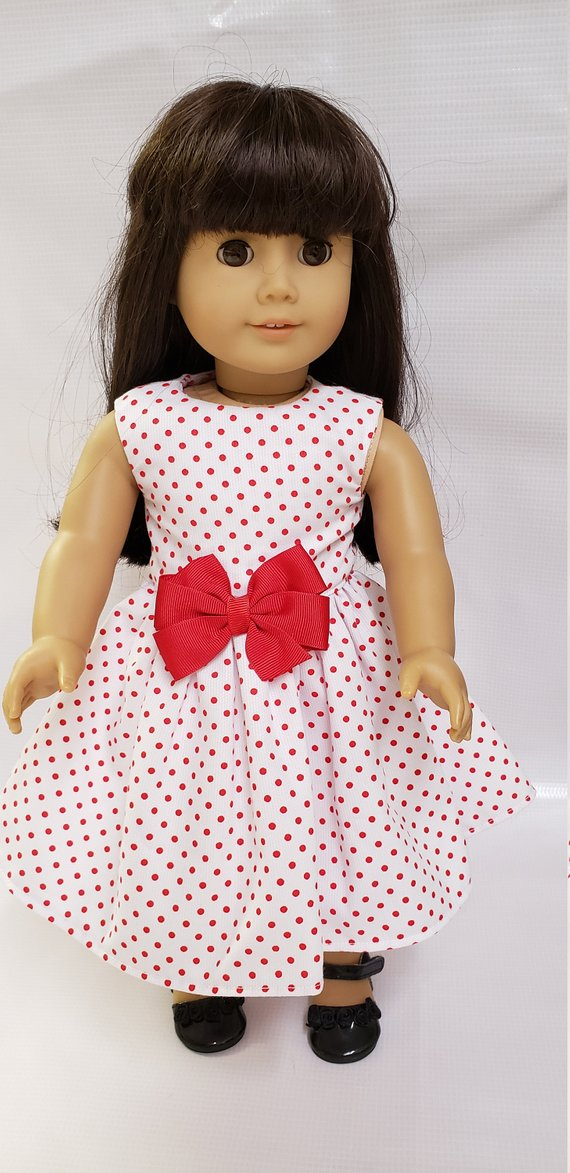 18 inch dolls dress like American Girl 18 inch doll Doll clothes 18 inch doll dress #dolldresspatterns