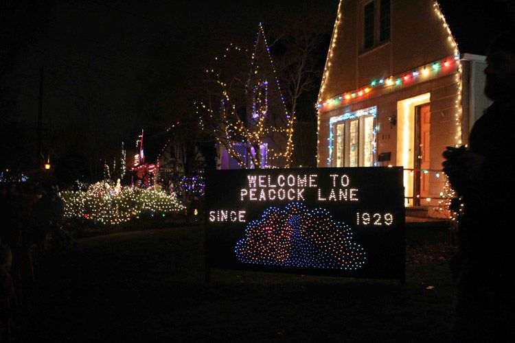 Take a stroll down Peacock Lane in Portland, an eye-catching display of houses decked out in Christmas cheer to the max! Up and running for more than half a century. #PDX #Portland #PeacockLane #Christmas #Lights