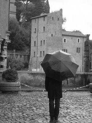 Rome in the rain.