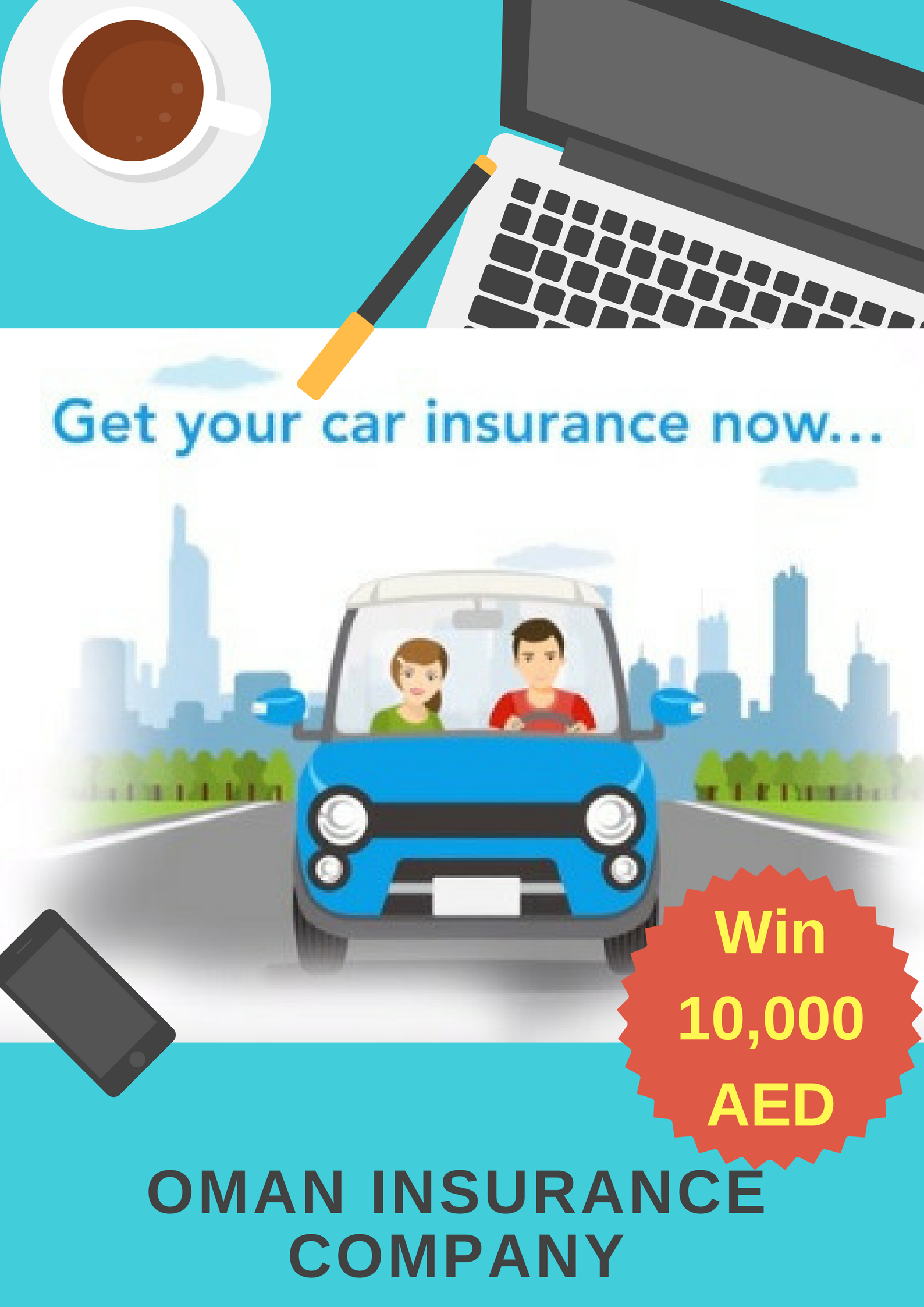Buy car insurance online from Oman Insurance Company and