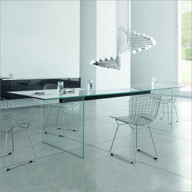 28++ Elegant glass dining table blue Trending