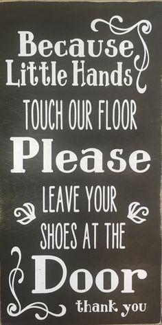 Uitzonderlijk Afbeeldingsresultaat voor bord: schoenen uit | Kinderopvang &HL38