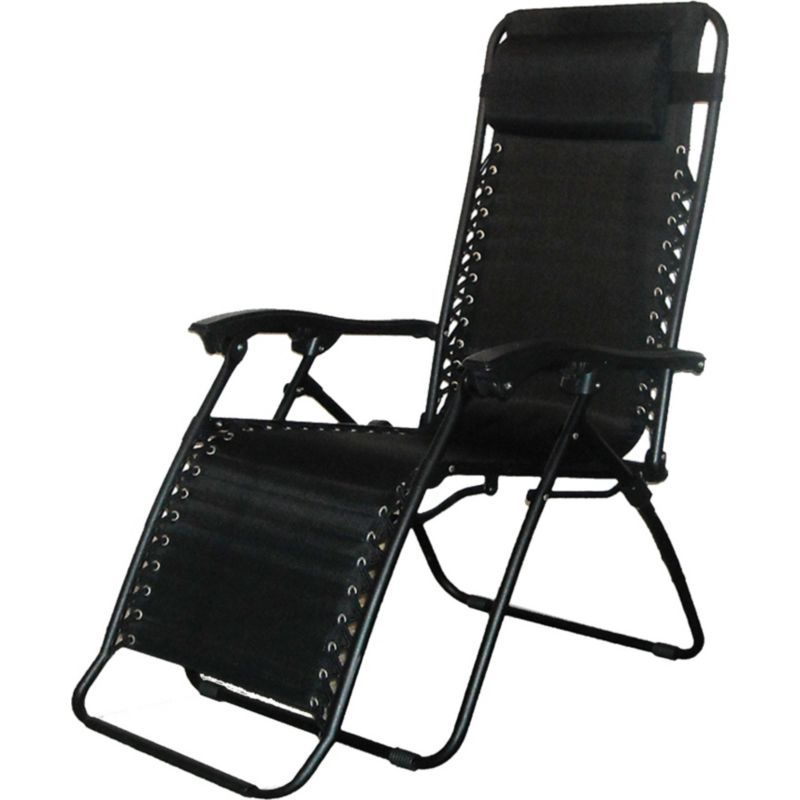 Caravan Infinity Zero Gravity Chair, Black | Zero gravity ...