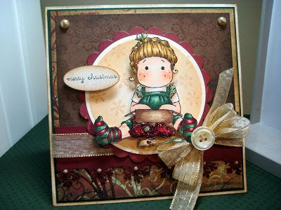 Cheryl Rowley: Cottage Creations: Cocoa Christmas! - 12/6/09 (like paper layer arrangment)