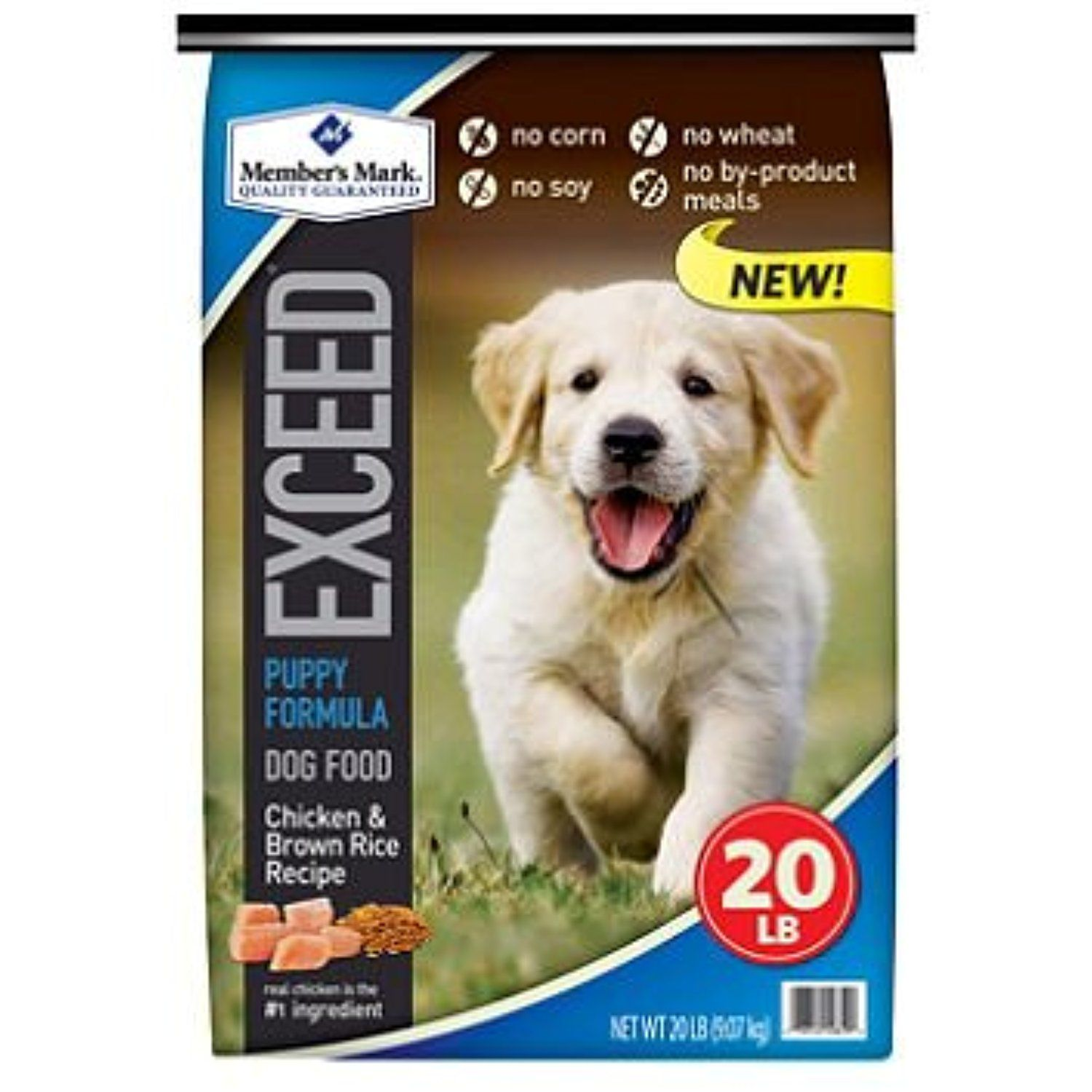 Member S Mark Exceed Puppy Food Chicken Rice 20 Lbs Sc Do