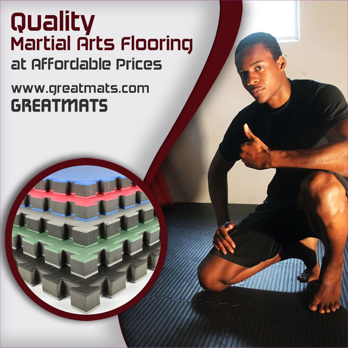 Professional dojo studio owners seeking flooring options