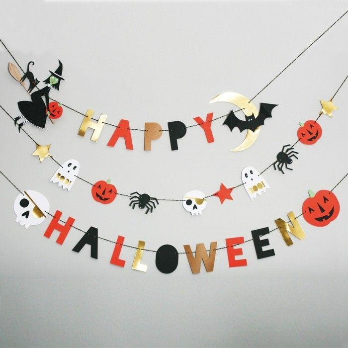 33 Bastelideen Halloween - Selber gebastelte Deko bringt noch mehr festliche Stimmung! #activitemanuellehalloween