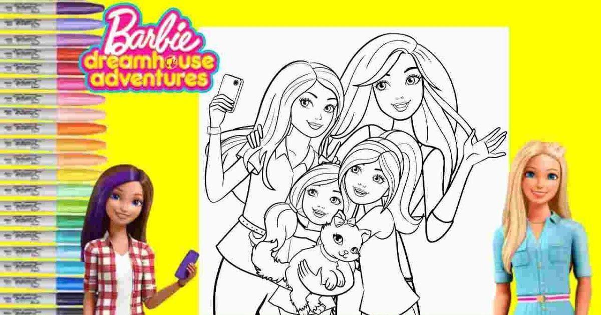 Barbie Dreamhouse Adventures Coloring Pages Coloring Pages Barbie In The Dreamhouse Coloring Sheets B Barbie Coloring Pages Coloring Pages Barbie Dream House