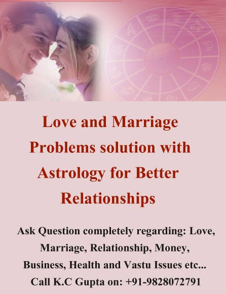 K C Gupta is the Love and Marriage Problem Solution Specialist in