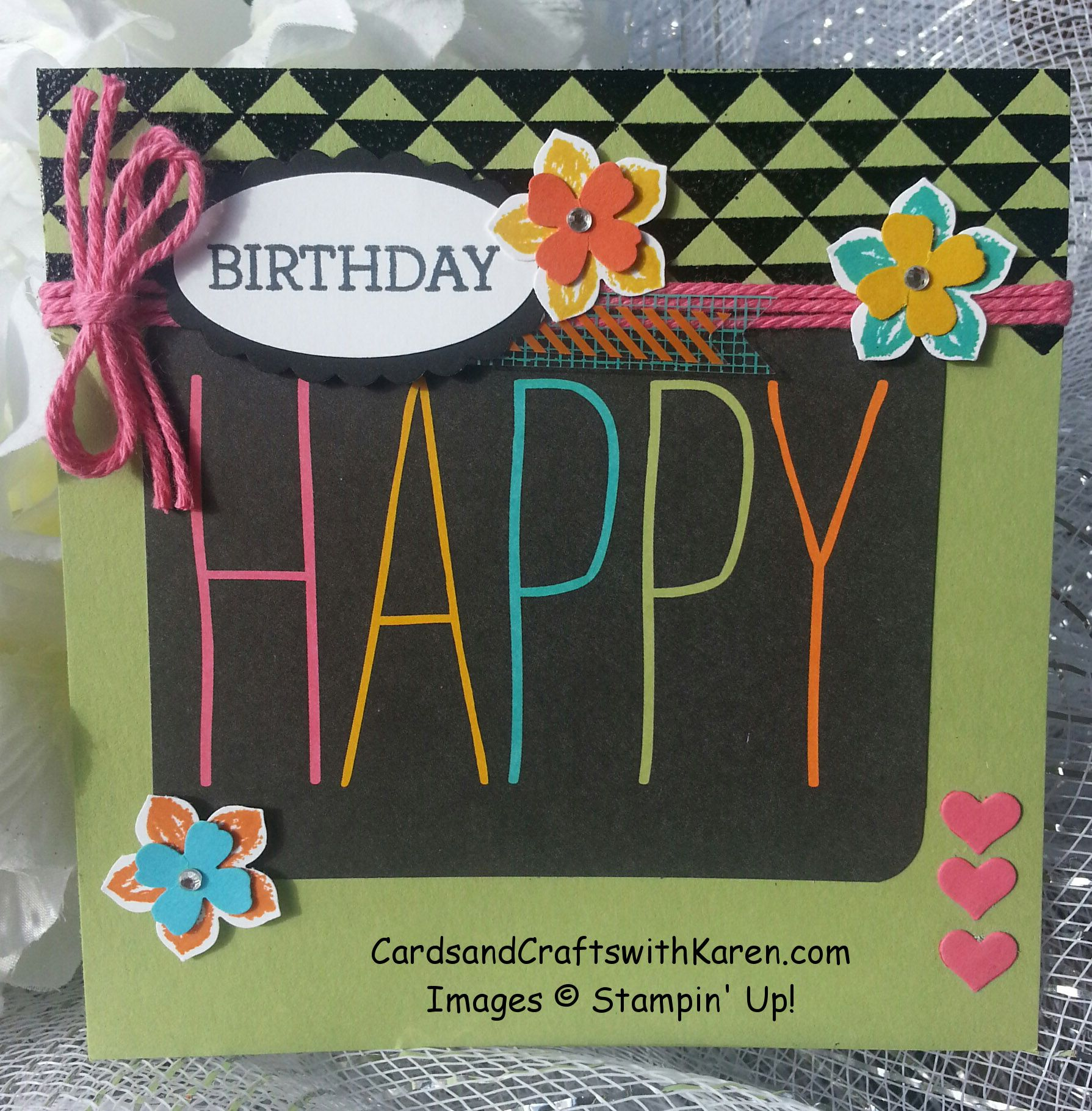 Pcccs birthday card using everyday adventure project life card