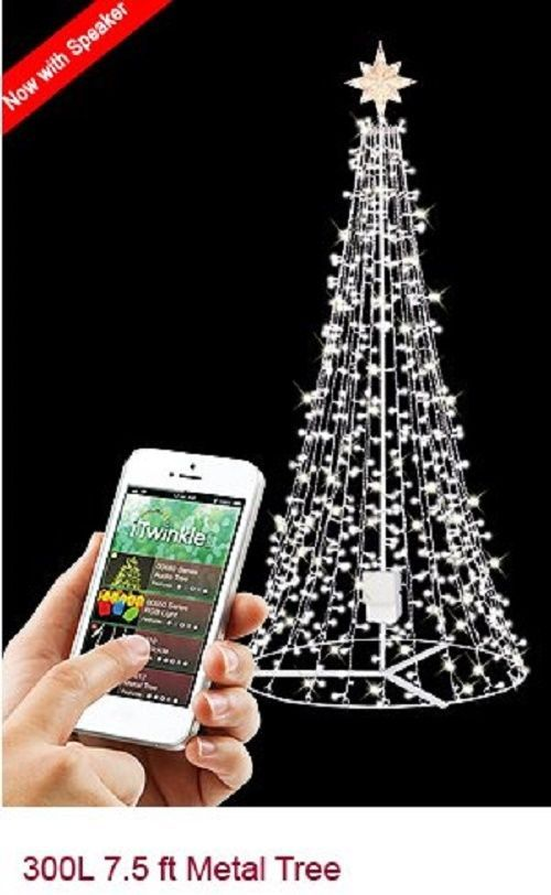 New Ge I Twinkle Light Show Tree 7 5 Includes Speaker Twinkle Lights Light Show Twinkle Twinkle