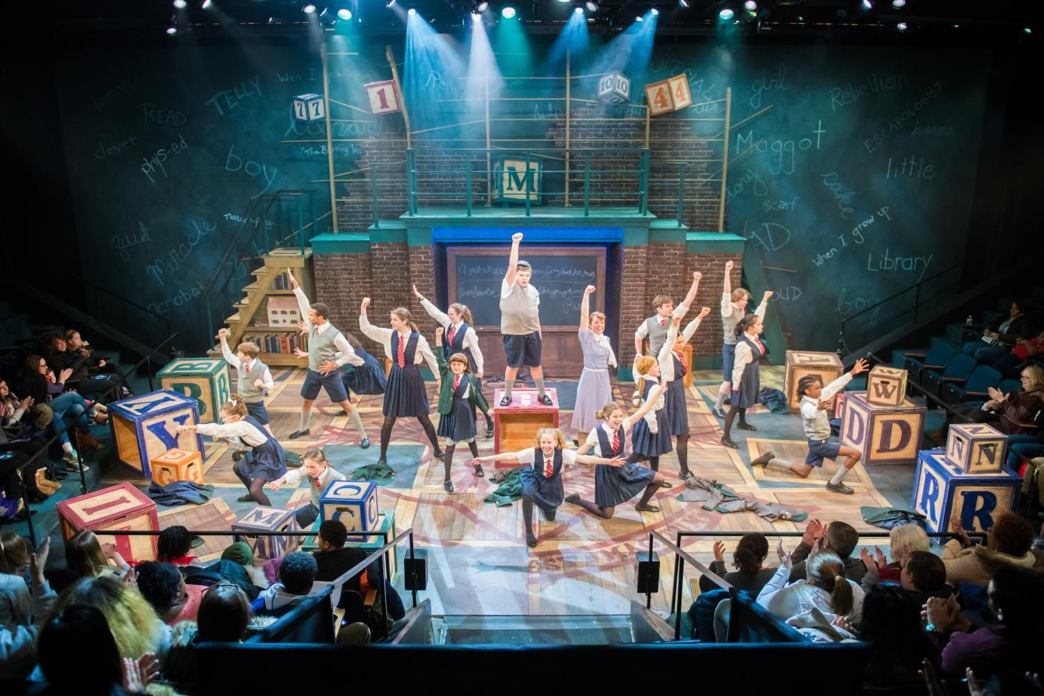 First stages matilda brings it matc times musicals