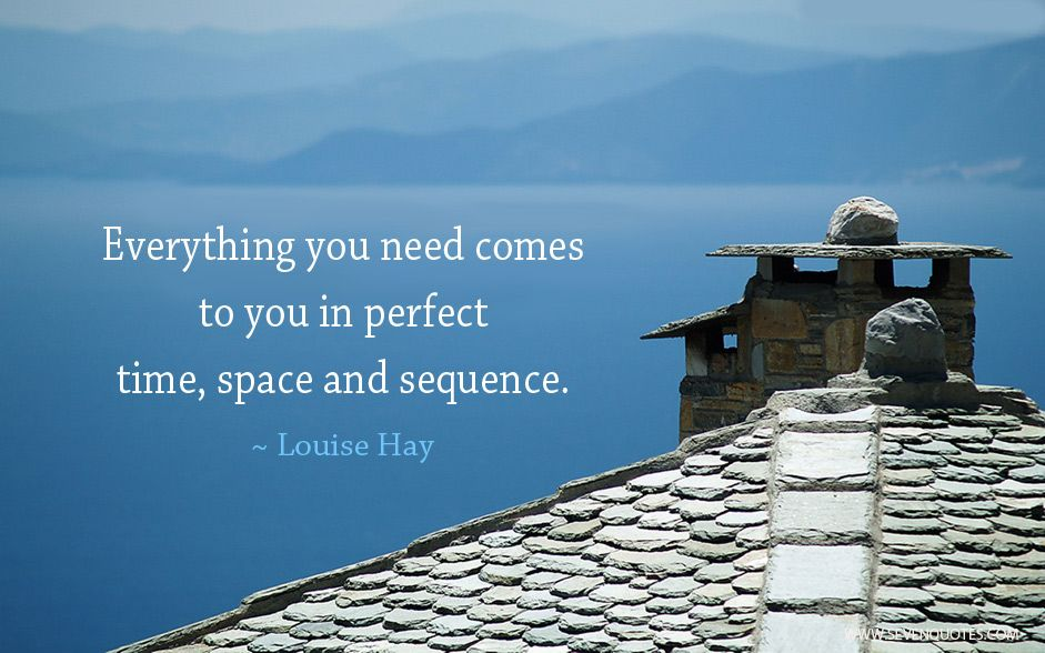 "Motivational Quote Of The Day ""Everything You Need Comes"