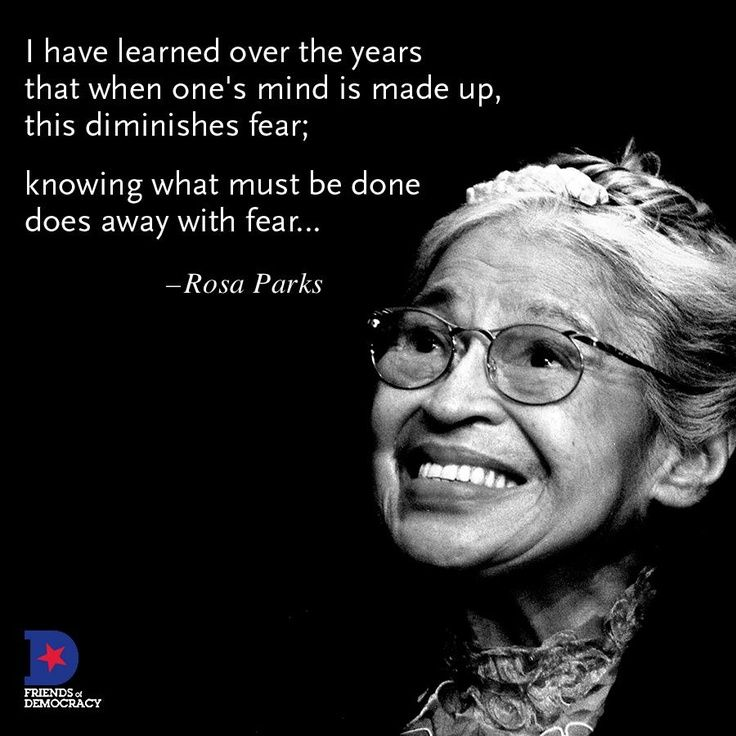 Rosa Parks Quotes Rosa Parks Changed The Lives Of Manystanding Up For What She