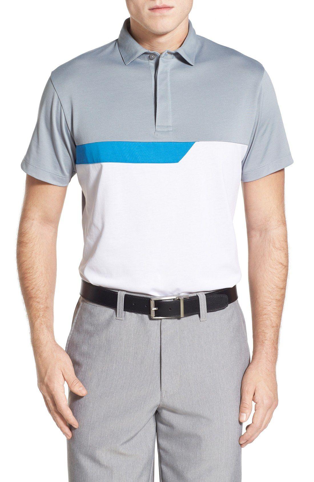 Devereux  Bastille  Colorblock Short Sleeve Polo  227e8d51f6413