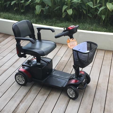 Refurbished Spitfire 4-Wheel (20 AH) Mobility Scooter | Used