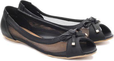 Pavers England Peep Toe Flats - Buy