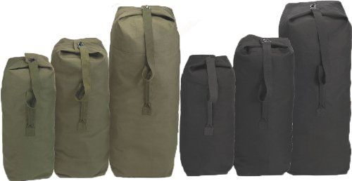Black Giant Top Load Canvas Duffle Bag 30 x 50 From  Army Universe List  Price   46.95Price   24.99 Availability  Usually ships in 2-3 business  daysShips ... d588d983f58