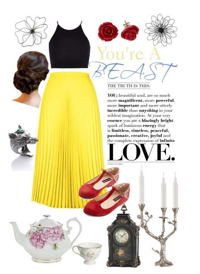 """Belle IRL"" by chrissymay ❤ liked on Polyvore"