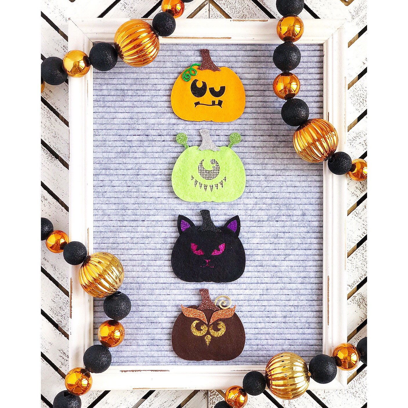 JackoLantern Letter Board Accessories and Icons (With