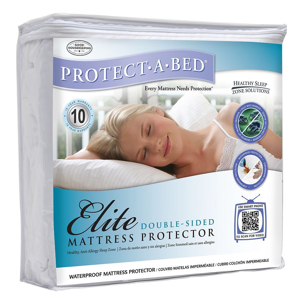 Protect A Bed Elite Double Sided Deep Pocket Mattress Protector Mattress Protector Mattress Bed