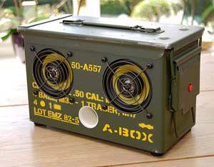Cool Speaker Boxes ammo speaker box   sweet, ipad and sock