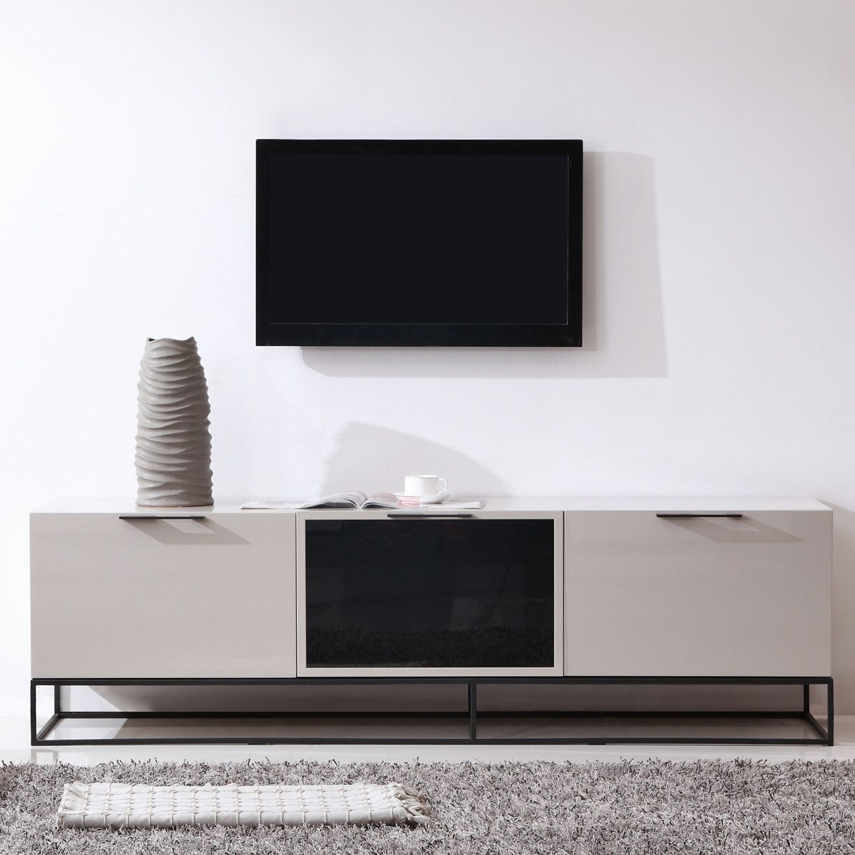 Dennis 71 TV Stand All Modern Tv On Home Decoration 10 7122 Stand ...