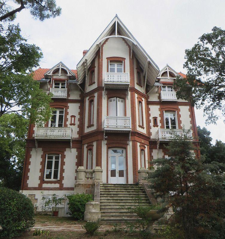 Villa Art Nouveau Ville D Hiver Arcachon Gironde Aquitaine